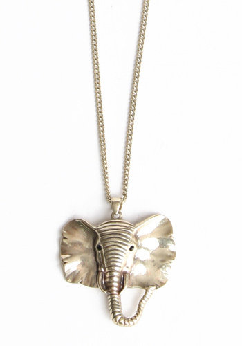 Faithful Elephant Necklace - $16.00 : ThreadSence.com, Your Spot For Indie Clothing & Indie Urban Culture