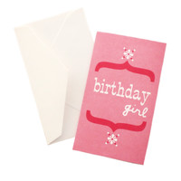 Birthday Girl Gift Card