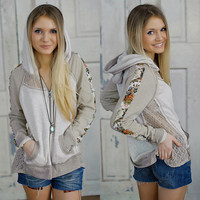 Show Me The Way Hoodie (Miss Me) - Piace Boutique