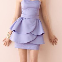 Sweetheart Puplum dress Size 4 & 6