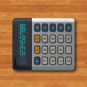 Vintage Digital Calculator Hipster Mouse Pad For Teen Ancient Computer Museum MousePad Desk Deco Work Pad Mat Rectangle Personal Cool Gift