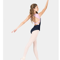 Free Shipping - Adult Tank Two-Tone Crisscross Back Leotard by NATALIE