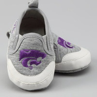 CHILDREN'S NCAA KANSAS STATE Baby Infant Toddler Pre-Walk Shoes