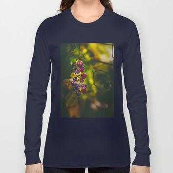 Pinot II Long Sleeve T-shirt by HappyMelvin