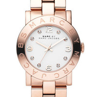 MARC BY MARC JACOBS &#x27;Amy&#x27; Crystal Bracelet Watch | Nordstrom
