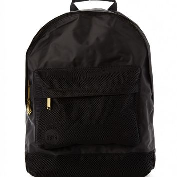 Mi-Pac Gold Satin Mesh Backpack - Black - Mi-Pac - Brands | Shop for Men's clothing | The Idle Man