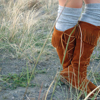 DIY: Bunchy Socks for Boots |