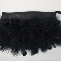 Semi-DIY: Feather Clutch |