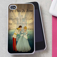 Cinderella disney princess castle nod iPhone Case And Samsung Galaxy Case