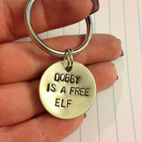 Dobby is a Free Elf - Harry Potter Keychain
