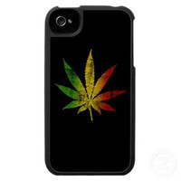 Rasta Weed Iphone from Zazzle.com