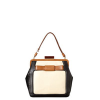 Orla Kiely - Tonal Leather Holly Bag