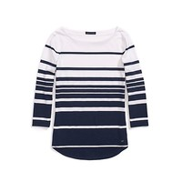 Varigated Stripe Tee | Tommy Hilfiger USA
