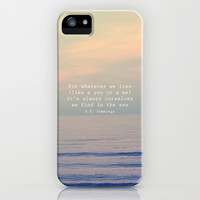 Ourselves in the Sea iPhone & iPod Case by Creative Soul Spectrum