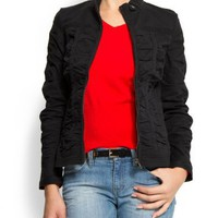 Mango Women`s Gathered Jacket $59.99