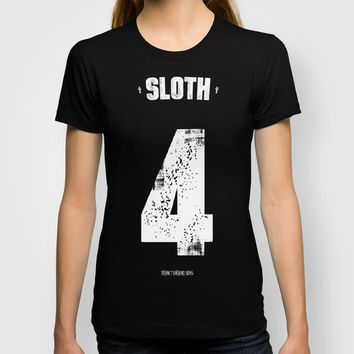 7 Deadly sins - Sloth T-shirt by HappyMelvin