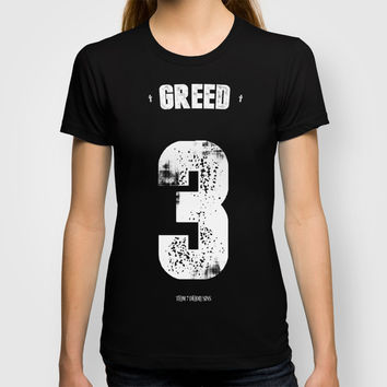 7 Deadly sins - Greed T-shirt by HappyMelvin