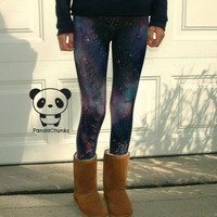 GALAXY LEGGINGS size medium