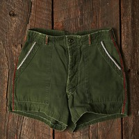 Vintage Hand Embroidered Shorts