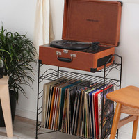 Record Storage Shelf