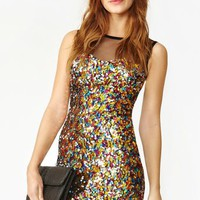 Confetti Sequin Dress