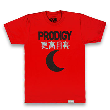 Prodigy Tee in Red
