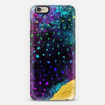 Cosmic Rainbow Stars iPhone 6 case by Noonday Design | Casetify