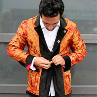 Blackhorse Reversible Smoking Jacket - Betabrand