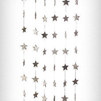 shimmering star curtain panel