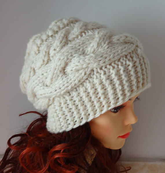 womens slouchy beanie hat slouch from ifonka on etsy