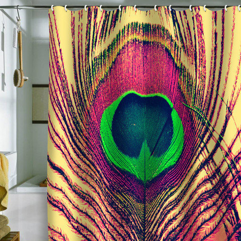 shannon clark peacock 2 shower curtain from deny designs just