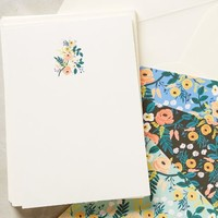 Social Stationery by Rifle Paper Co. Blue Motif One Size Gifts