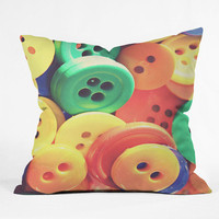 DENY Designs Home Accessories | Shannon Clark Buttons Throw Pillow
