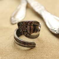 Spoon Ring, Made to Order (select your style)