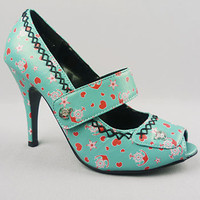 Anchors Aweigh Maryjane Pumps | PLASTICLAND