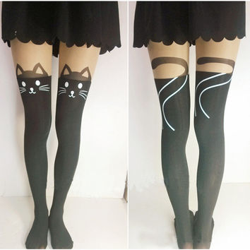 Cat Tail Tights