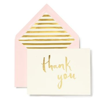 kate spade new york Paint Brush Thank You Card Set at Von Maur
