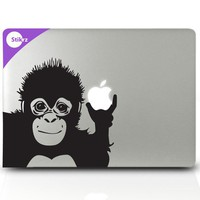 BUY Any 2 Decals and get 1 FREE Apple Monkey Apple by stikrz