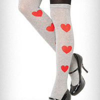 All Hearts 2-Tone Tights | PLASTICLAND