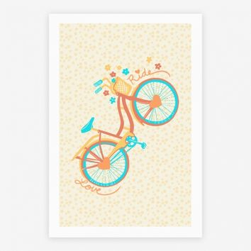 Love Your Ride: Colorful Bicycle