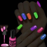 Glow In The Dark Nail Polish (Blue)