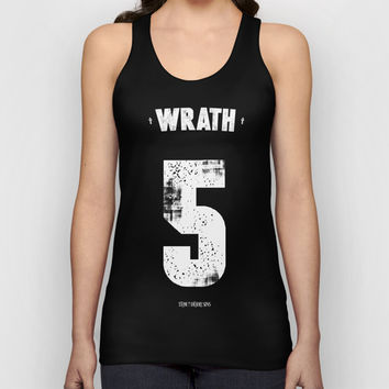 7 Deadly sins - Wrath Unisex Tank Top by HappyMelvin