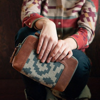 Pendleton Portland Collection Clutch in Ram's Horn