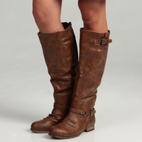 Madden Girl Women&#x27;s &#x27;Allstaar&#x27; Boots | Overstock.com
