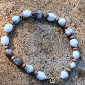 Beautiful Blessed Natural Organic Jobs Tears Tear Grass Bracelet Anklet