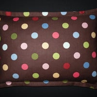 Corn Bag Microwave Heating Pad- Spintastic Polka Dots