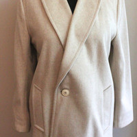 Cashmere Long Winter Coat 1960s