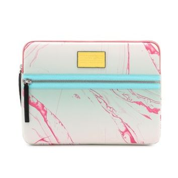 "Marc by Marc Jacobs Domo Arigato Milk Marble Tech 13"" Computer Case"