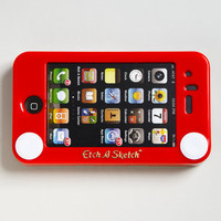 Etch-A-Sketch iPhone Case | Headcase Etch A Sketch Cover | fredflare.com