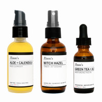 DAILY RITUAL - Skin Care Essentials for Combination or Oily Skin Types